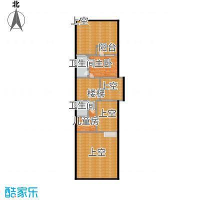 万科第五园(A-s)地上二层户型2室2卫
