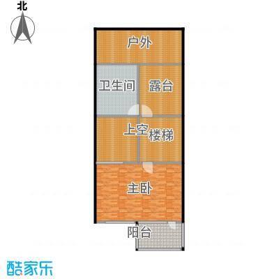 万科第五园(B-n)地上三层户型1室1卫