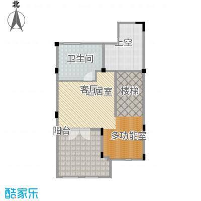 长泰东郊御园B2三层户型1卫