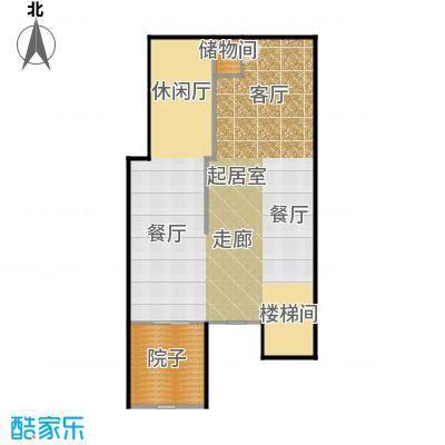 港城滴水湖馨苑D1-地下层户型