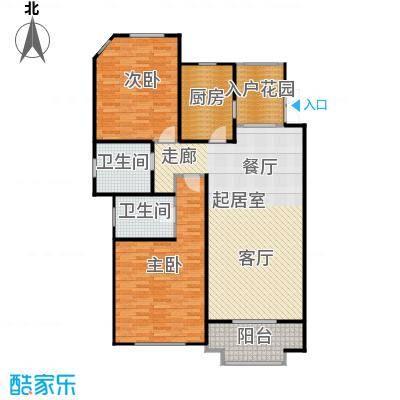 尚东国际名园--40套户型2室2卫1厨