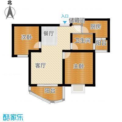 绿地东上海92.54㎡户型10室