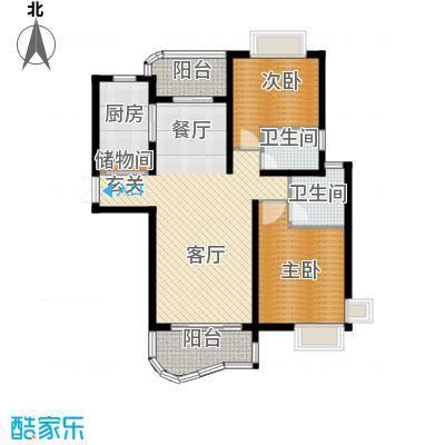 绿地东上海114.71㎡户型10室