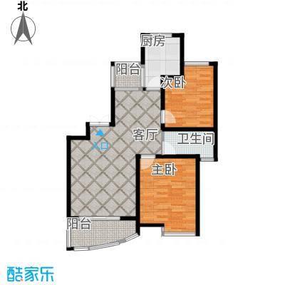 绿地东上海75.23㎡L2户型10室