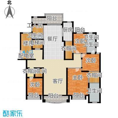 浦东星河湾285.79㎡户型10室