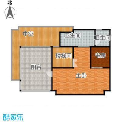 汤臣湖庭花园房型单栋别墅户型2室2卫