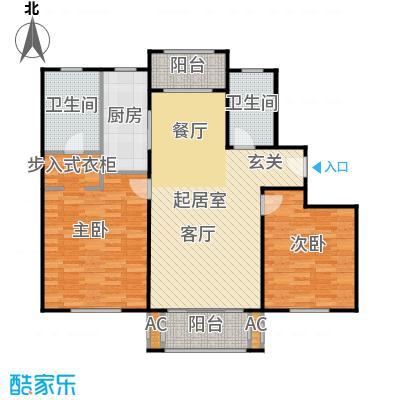 张江汤臣豪园110.00㎡二房二厅二卫-112平方米-24套户型
