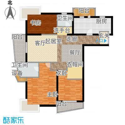 联洋年华138.87㎡房型: 三房; 面积段: 138.87 -166.68 平方米;户型