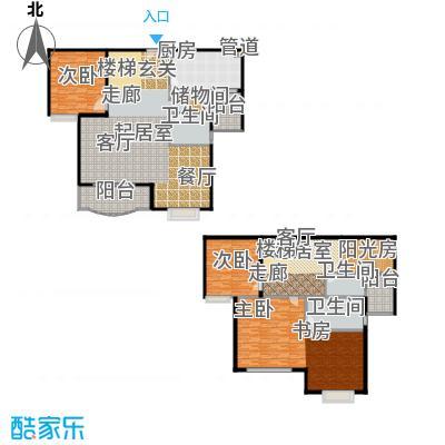 华丽家族花园208.93㎡房型: 复式; 面积段: 208.93 -360 平方米; 户型