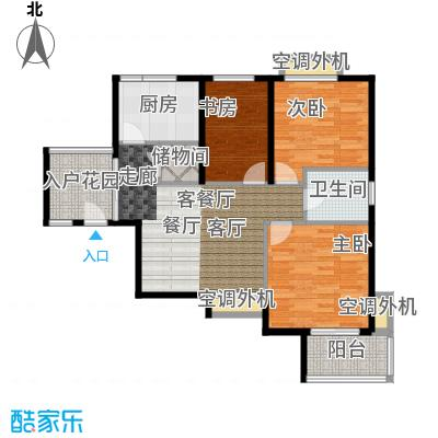 上域(逸庭苑)A2 85.78平米户型