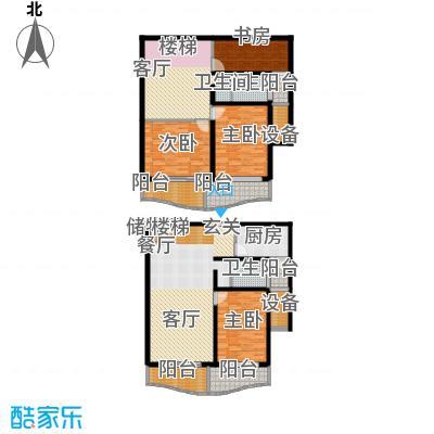 联洋新苑182.80㎡房型: 复式; 面积段: 182.8 -182.8 平方米; 户型