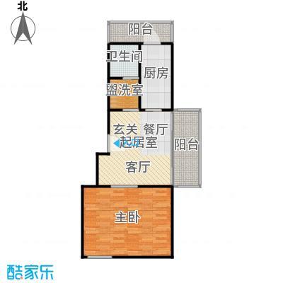 凌兆佳苑60.00㎡房型: 一房; 面积段: 60 -60 平方米; 户型