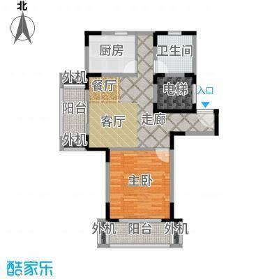 天意洲家园68.53㎡房型: 一房; 面积段: 68.53 -68.53 平方米;户型