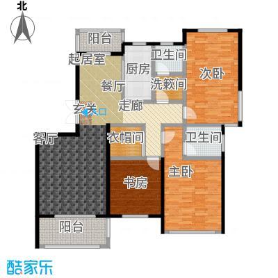 赞成红树林J户型3室2卫1厨