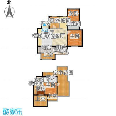 金地松江艺境户型4室1卫2厨