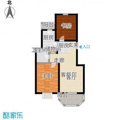 上泰绅苑90.00㎡松江房管(2009)预字0539号-二房二厅一卫-95.54平方米-37套户型