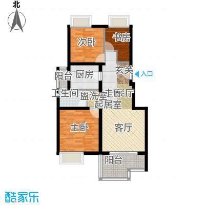 中信泰富朱家角新城5层A2c户型3室1卫1厨