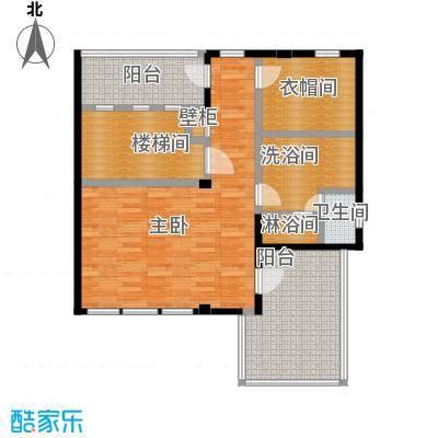 凯迪赫菲庄园双拼DH-S2三楼户型1室1卫