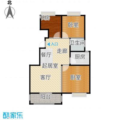 南山雨果香逸公馆户型1室1卫1厨