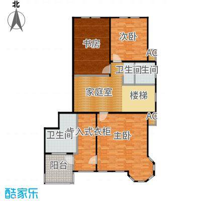 莫奈的花园250.00㎡青浦房地(2009)预字0282号-二层-复式-250-300平方米-4套户型