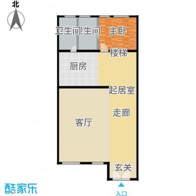金水湾贵园三期F型的一楼平棉图222.44-225.93平方米户型