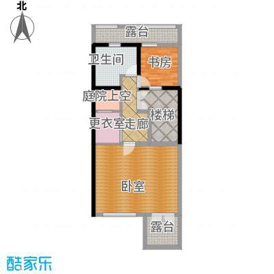 佳兆业珊瑚湾196.00㎡联排别墅A三层户型1室1卫