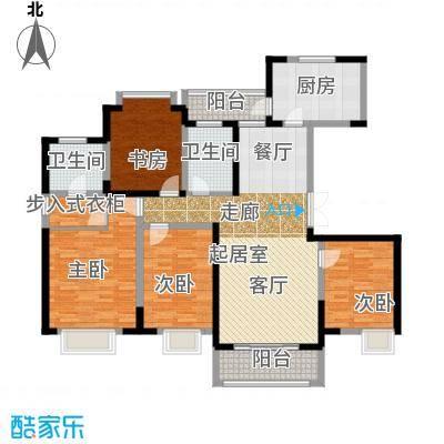 苏宁荣悦F1户型4室2卫1厨