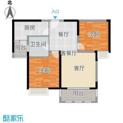 上海顺寓国际社区--40套户型2室1厅1卫1厨