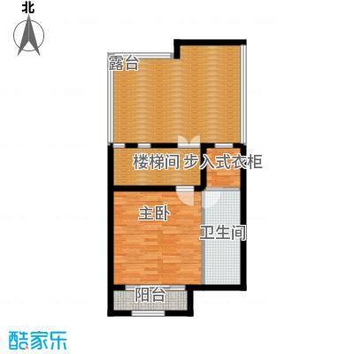 融科托斯卡纳庄园B三层户型1室1卫