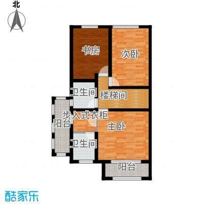 融科托斯卡纳庄园A5半二层户型3室2卫