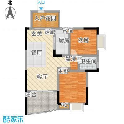湘粤名城96.00㎡06户型
