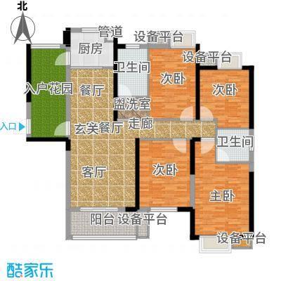 东城国际147.03㎡2号楼M户型