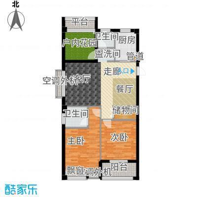 天瑞公馆102.10㎡7#楼(1)G1户型