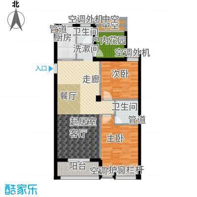 天瑞公馆102.85㎡7#楼(1)G2户型