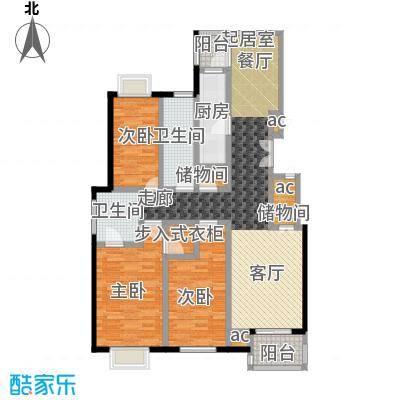 证大家园(三期)110.00㎡房型: 三房; 面积段: 110 -130 平方米; 户型