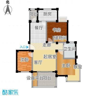 金和佳园102.00㎡房型: 三房; 面积段: 102 -117 平方米; 户型