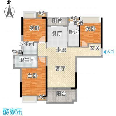 联投国际城1104黄冈单张-03_副本户型