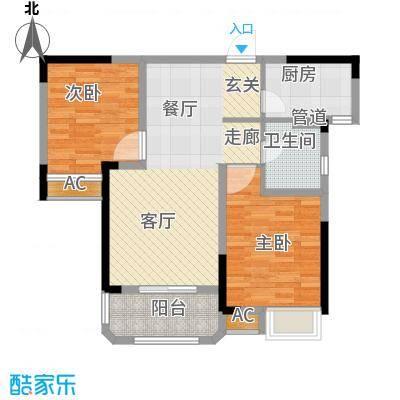 联投国际城1104黄冈单张-01户型