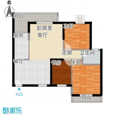 东方华府109.07㎡三_户型