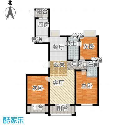 东海香港城147.64㎡东海・香港城C-2户型