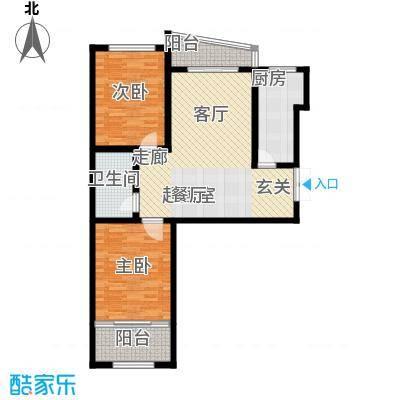 华新家园91.00㎡A2/A3/A7-4户型