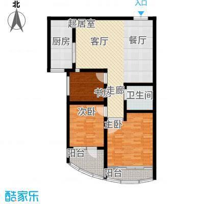 华新家园102.00㎡A4/A6-2户型