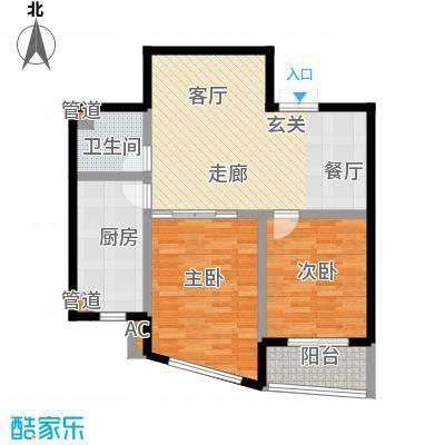 锦绣豪庭六号楼B户型