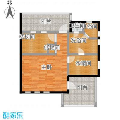 凯迪赫菲庄园双拼单片-04-02三楼户型1室1卫