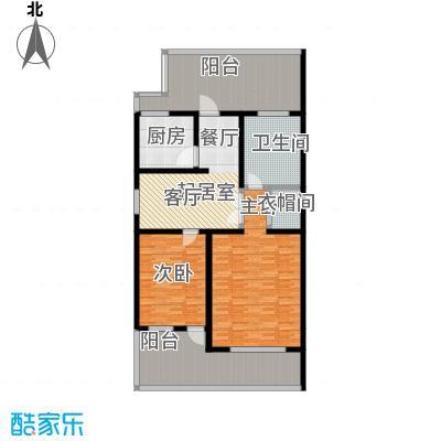 金水湾贵园三期E型的二楼平面图205.13平方米户型