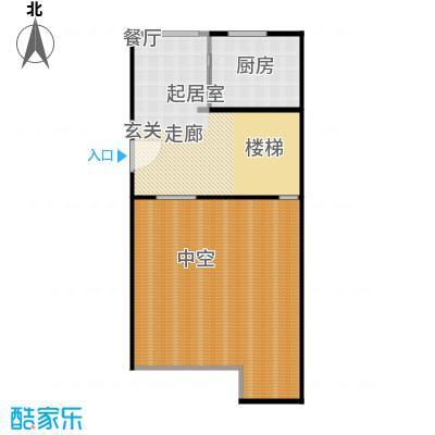 金水湾贵园三期F型的夹层平棉图222.44-225.93平方米户型