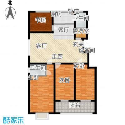 景圣湄河公寓158.70㎡A1户型