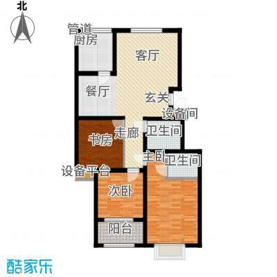 景圣湄河公寓118.00㎡B2户型