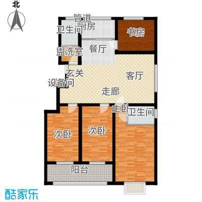 景圣湄河公寓151.40㎡A2户型