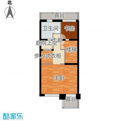 佳兆业珊瑚湾别墅190.32㎡联排A-1三层户型1室1卫